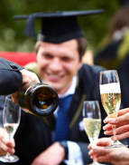 Celebrate your graduation with a delicious two or three course lunch in the Astor Restaurant.Tables can be reserved between 12:00 and 17:00 every day of the degree period. Please book in advance to ensure availability.Important hints for attendees- For 10:30am Graduation book lunch for 12:30pm onwardsFor 1:45pm Graduation book 3:30pm onwardsFor 4:30pm graduation book no later than 2:00pmPlease click here to view our menu.