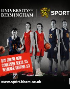 The Annual Basketball showdown with the University ofBirmingham Mens and Womens Basketball teams competing against local rivals WarwickUniversity. With entertainment from Bhangra, Performance Dance Squad and HipHop Society.Doors open 3.30pm Womens Match starts 4pm Mens Match starts 6pm