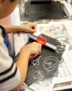 Summer Art School - Papermaking Masterclass (8-12 yrs) - Day 3